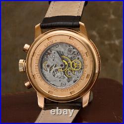 Poljot Chronograph 3133/2729395 Watch Letzte Luxury Collection Hand Wound