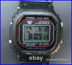 +RARE 1983 Casio G-SHOCK DW-5000C-1A (240) Japan B 1st Generation All Original