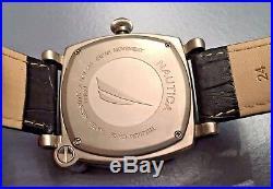 Rare Collectible Nautica A43001 Spettacolare Duo Titanium Chronograph Watch
