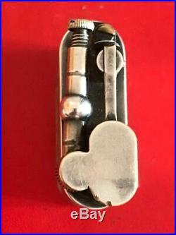 Rare silver platted Dunhill sport petrol lighter