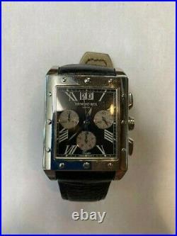 Raymond Weil Geneve Sapphire Crystal Men's Watch Collection Tango # 4881