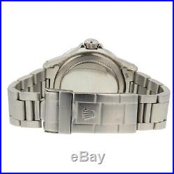 Rolex Submariner Steel 40 mm Black Dial 5513 Automatic Mens Collectible Watch