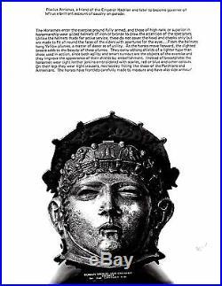 Roman Standard Bearer Signifer Masked Sports Cavalry Helmet Armor Silver Mask
