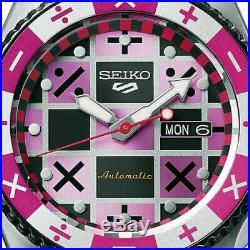 SEIKO 5 SPORTS JoJo's Bizarre Adventure LTD Watch Trish Una SBSA033 Pre Sale NEW