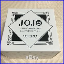 SEIKO JoJo's Narancia Ghirga SBSA037 Wristwatch Golden Wind Limited 1000 EMS