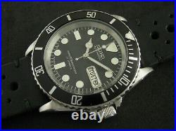 SEIKO SKX031 Mod Submariner NH36 Hack Winding Water Proof Tested Nice Collection