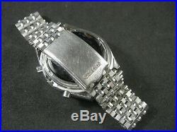 SEIKO TIME SONAR 7015-6010 Chronograph Watch Vintage Japan Made RARE Collection