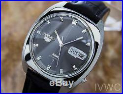 Seiko 5 DX Automatic Vintage Collectible Men's Sports Watch Circa 1970 L176