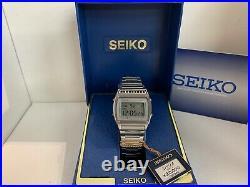 Seiko A359-5059 Chrono-Alarm Quartz LCD Collectible Watch