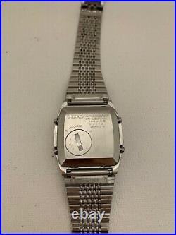 Seiko C359-5000 Calculator Chrono-Alarm Quartz LCD Collectible Watch Lot no 3
