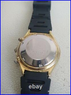 Seiko Panda Black 6138-8020 Automatic Chronograph 100% Japan Vintage Collectible