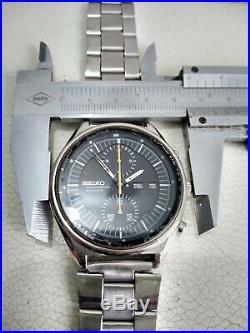 Seiko Pepsi Jumbo 6138-6002 Automatic Chronograph 100% Japan Vintage Collectible