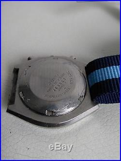 Seiko Ufo 6139-8020 Automatic Chronograph 100% Japan Vintage Collectible Blue