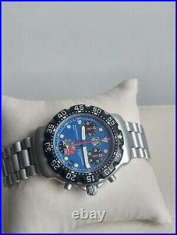 TAG Heuer FORMULA1 CHRONOGRAPH CA1210- SWISS MADE 200 METERS VINTAGE COLLECTIBLE