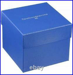 TechnoMarine TM-616003 Men's UF6 Collection 48mm Silver & Black Strap