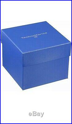TechnoMarine Tm-215067 Men's Ocean Manta Collection 48mm Gold Dial Watch