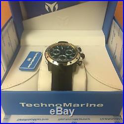 Technomarine TM-615007 Men's UF6 Collection Black & Silver Swiss Watch 6