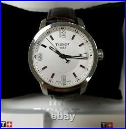 Tissot 1853 PRC200 T-Sport Collection Swiss Quartz Chronograph Mens Watch WithBox