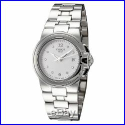 Tissot Women's T0802101101600 T-Collection 31.15mm White Dial SS Watch