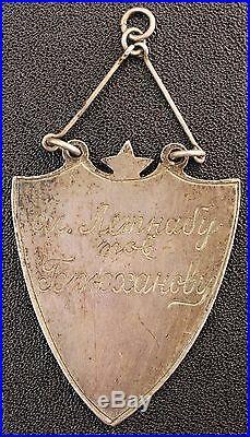 USSR Russia Prewar Early Sport Badges Silver RKKA 1927-1928 VERY RARE