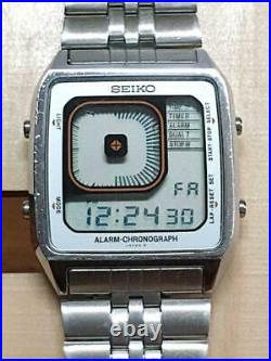 VERY GOOD Rare Seiko G757-405A Men's Watch Collectable EXPEDITED SHIPPING