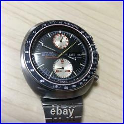 VERY GOOD Vintage Seiko 5 Speedtimer 6138-0010 Men's Watch Collectable Tracking