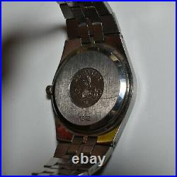 Vintage Omega Seamaster Quartz Watch Swiss Made Collectible 1342(Not Working)