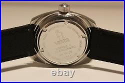 Vintage Rare Collectible Diver Men's Swiss Automatic Watch Venus 21 J