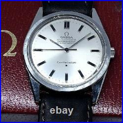 Vintage Rare Omega Constellation Automatic 35 MM Ref 167.021 Slim Collectable