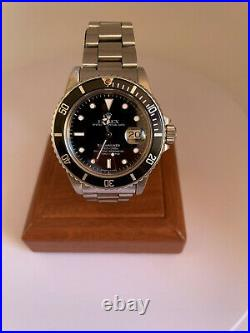 Vintage Rolex Submariner 16800 Full Set Transition Model Highly Collectable