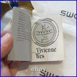 Vintage SWATCH Watch ORB PWZ104 NEW 1993 Vivienne Westwood